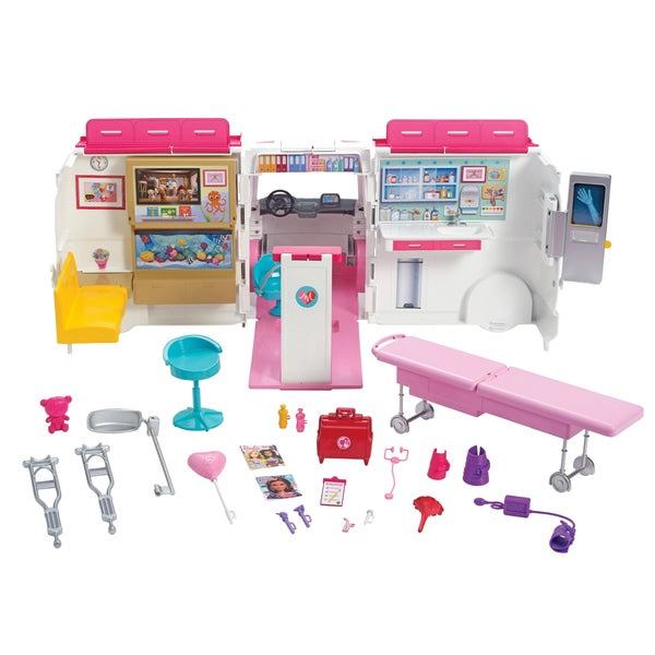 Barbie Care Clinic Ambulance Playset
