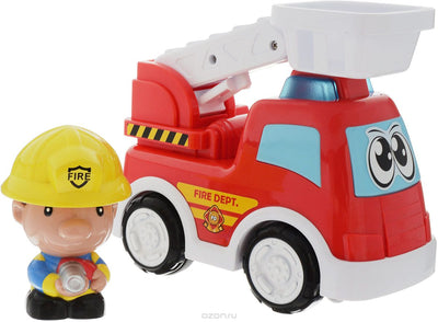 Keenway Fun on Wheels Sound Activated Fire Engine