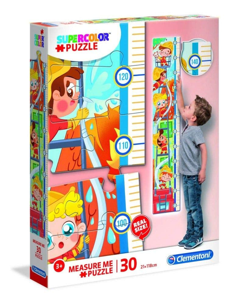 Clementoni Measure Me Jigsaw Puzzle Fire Fighters