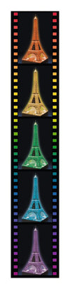 Eiffel Tower 3D Jigsaw Puzzle Night Edition