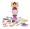 Melissa & Doug Nina Ballerina Magnetic Dress Up Doll