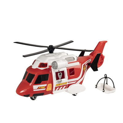 Teamsterz Light And Sound Fire Rescue Helicopter