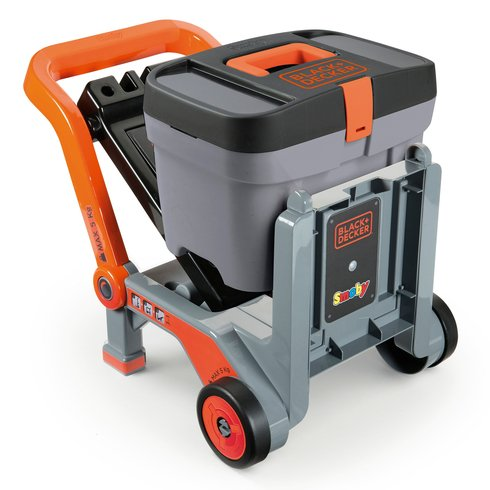 Smoby Black & Decker Devil Workmate and Box