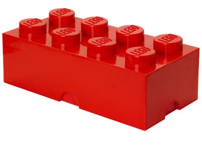 Lego Classic 4004 Storage Brick Red