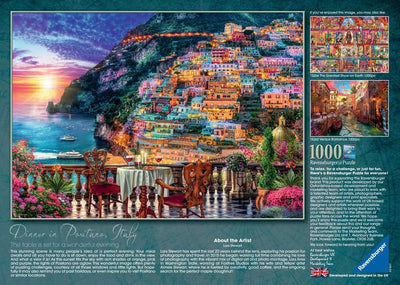 Ravensburger Dinner In Positano 1000pc Jigsaw Puzzle