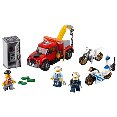 Lego City 60137 Police Tow Truck Trouble