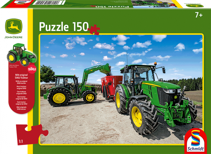 John Deere Tractors of the 5M series 150pc Jigsaw Puzzle