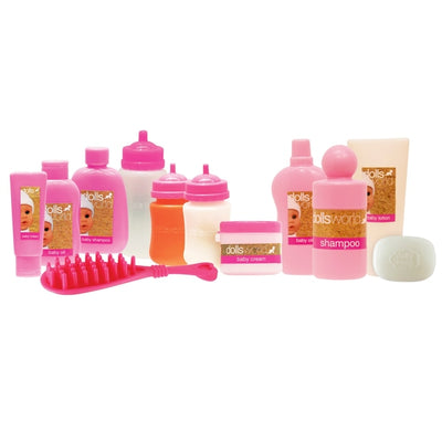 Dolls World Deluxe 20pc Accessory Set