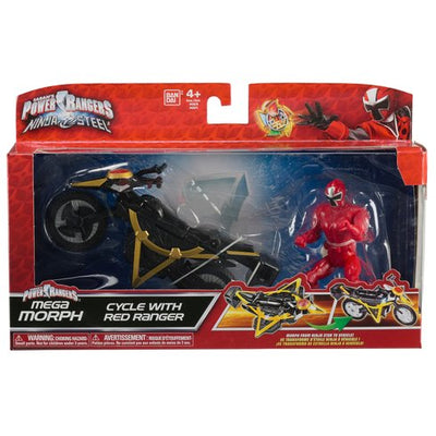 Power Rangers Ninja Steel - Mega Morph Cycle With Red Ranger