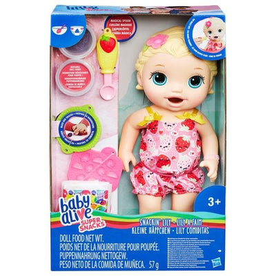 Baby Alive Super Snacks - Snackin Lily