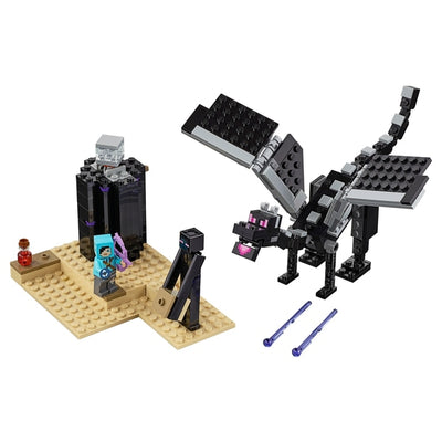 Lego Minecraft 21151 The End Battle