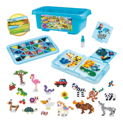 Aquabeads Box of Fun Safari Playset