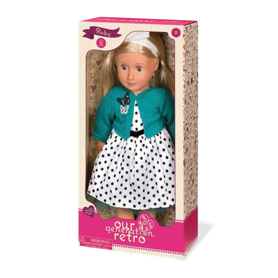 Our Generation Retro Doll Ruby