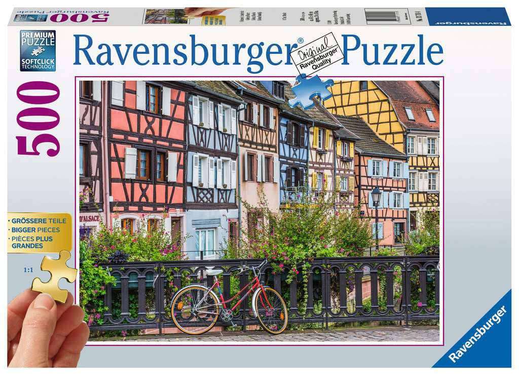 Ravensburger Colmar France 500pc Jigsaw Puzzle