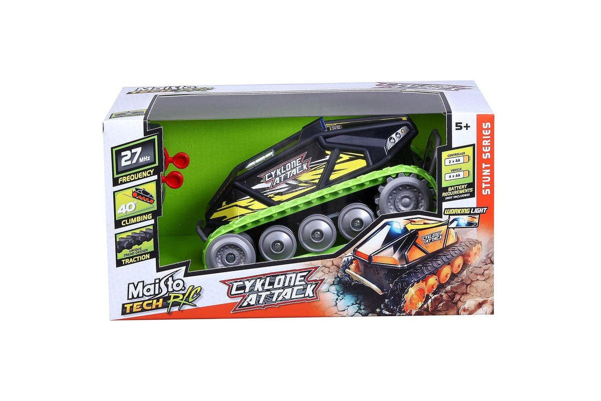 Maisto Tech R/C Cyklone Attack Remote Control Vehicle