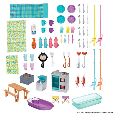 Barbie 3 In 1 Dream Camper With Accessories