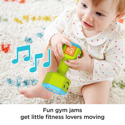 Fisher Price laugh And Learn Countin' reps Dumbbell