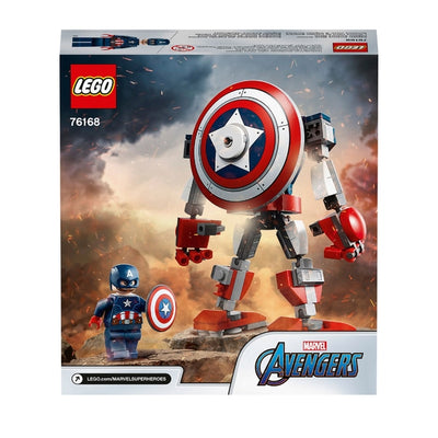 Lego Marvel 76168 Super Heroes Avengers Captain America Mech Armour