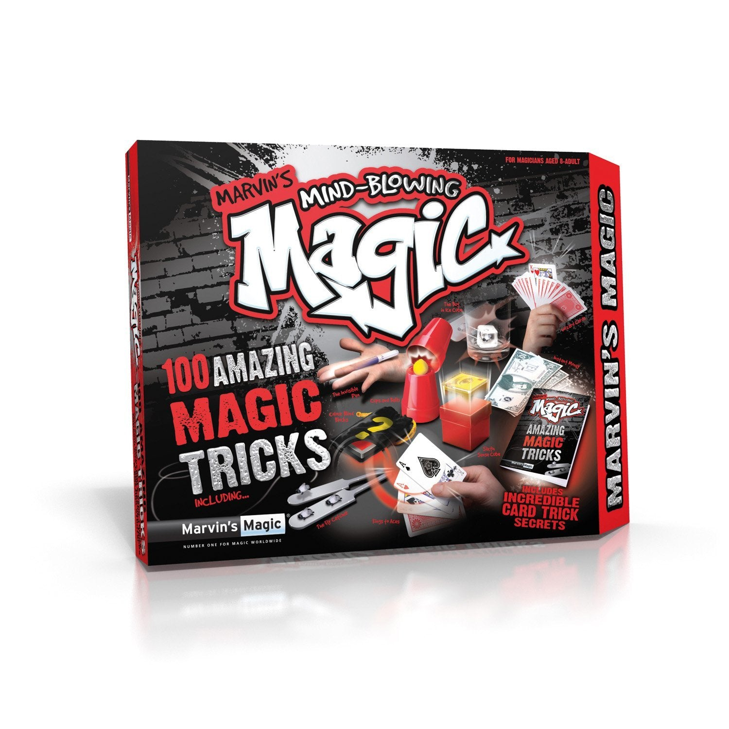 Marvin's Magic 100 Amazing Mind-Blowing Magic Tricks