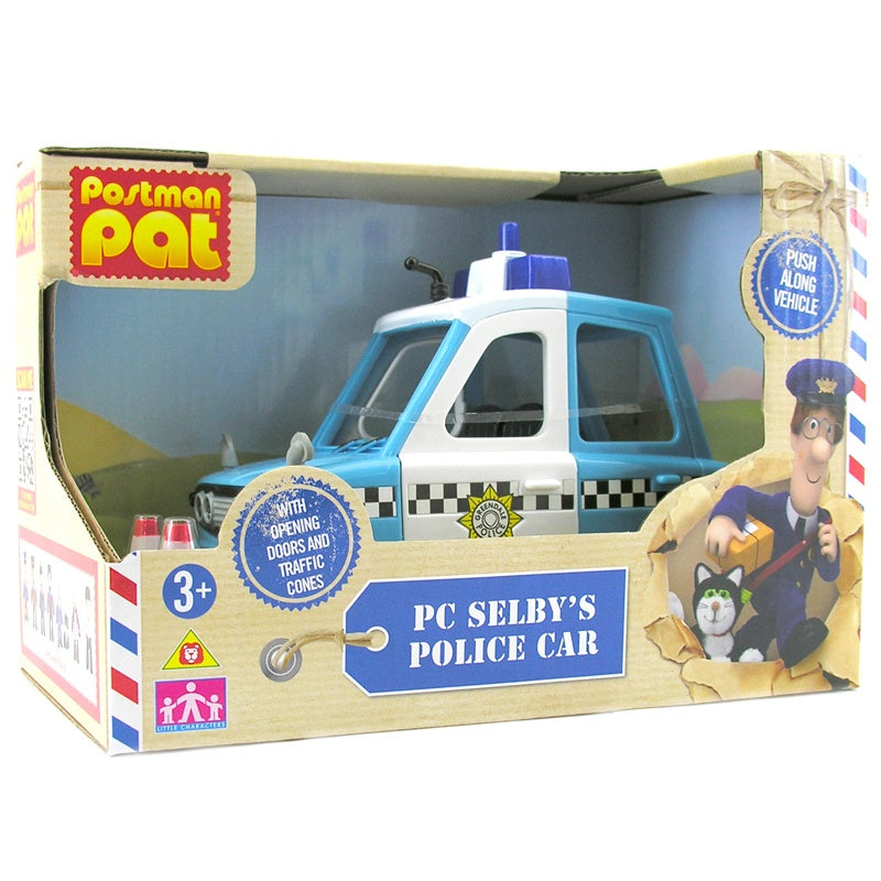 Postman Pat PC Selby Police Car