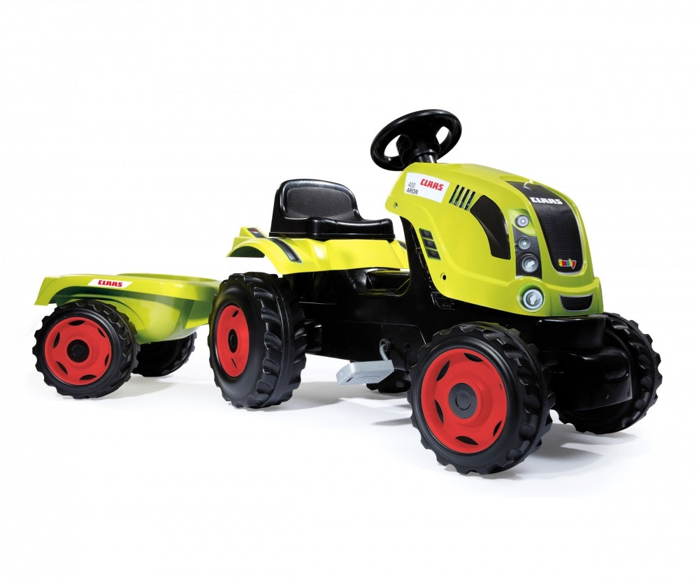 Smoby Class Tractor with Trailer