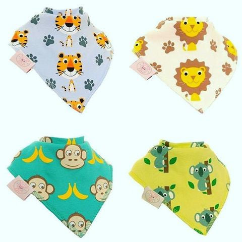 Zippy Bandana Dribble Bibs