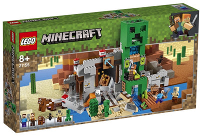 Lego Minecraft 21155 The Creeper Mine