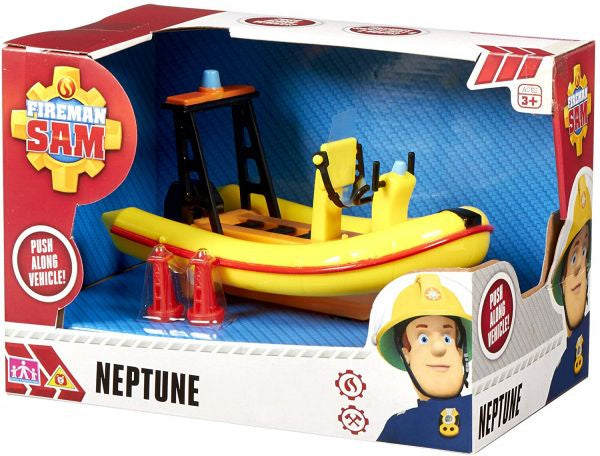 Fireman Sam Neptune Push Along Vehicle