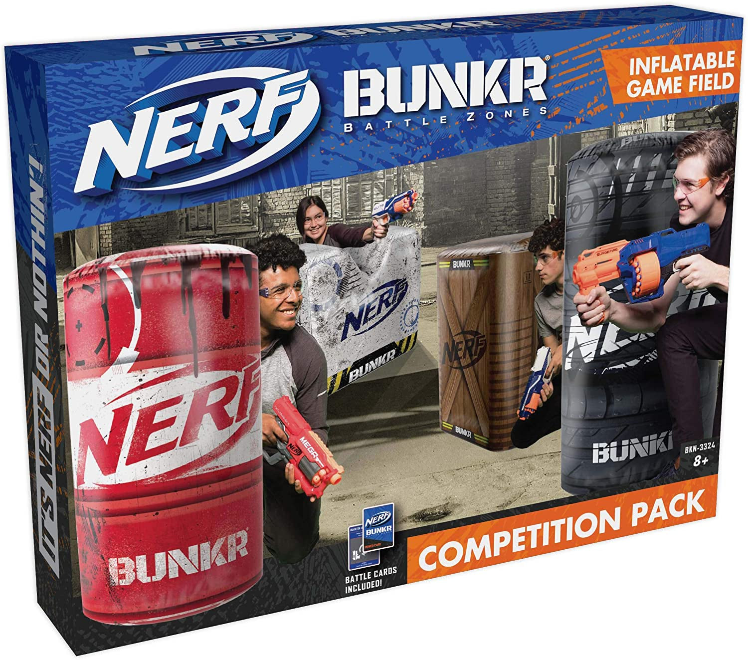 Nerf Bunker Battle Zone Competition Pack