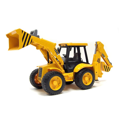 Bruder 02428 JCB 4CX Tractor with Front Loader and Digger