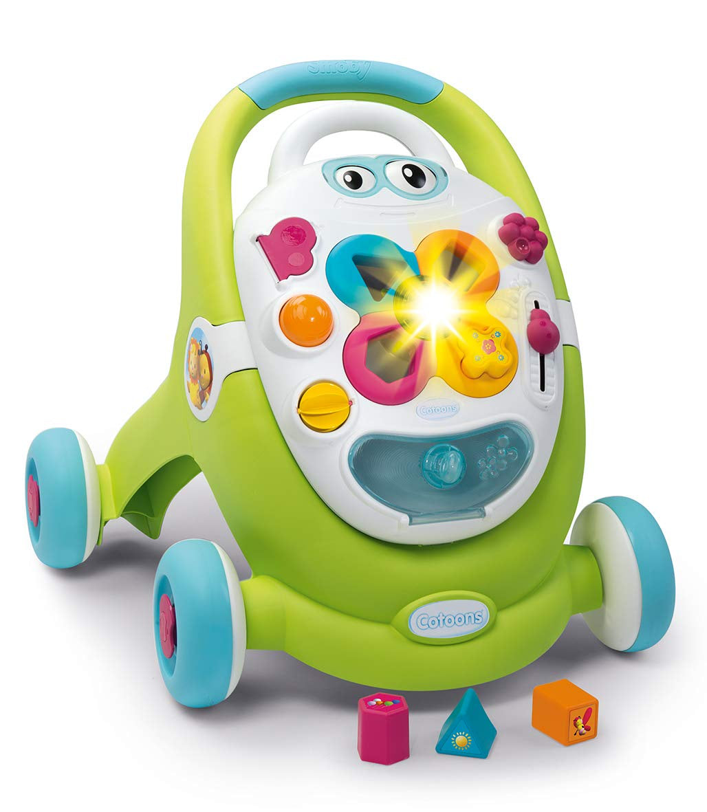 Smoby Cotoons 2 in 1 Baby Walker