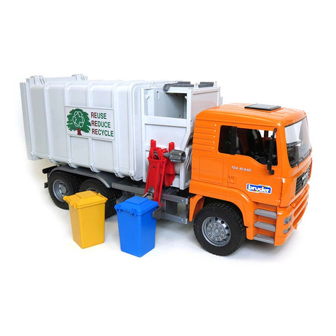 Bruder 3581 MAN TGS Side Loading Garbage Truck