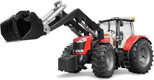 Bruder Massey Ferguson 7624 Tractor with Front Loader - 1-16