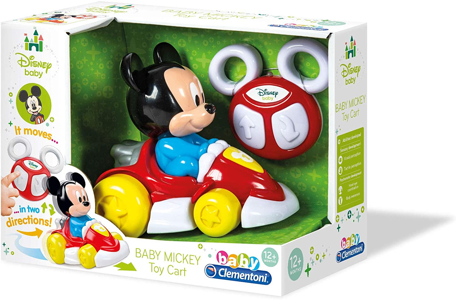 Mickey Mouse Baby Remote Control Baby Mickey Toy Cart