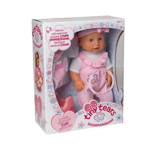 Tiny Tears Classic Interactive Doll
