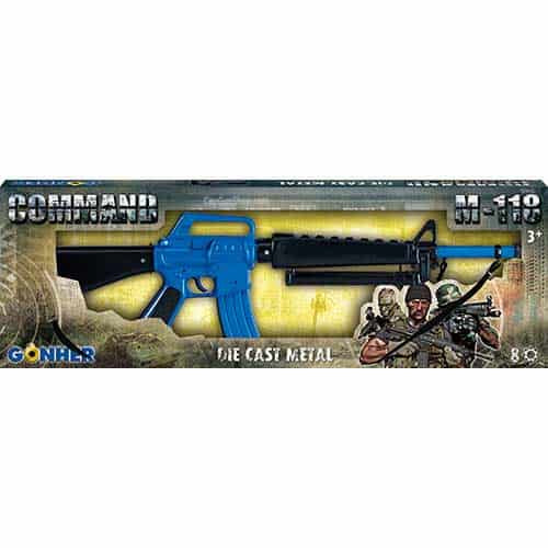 Gonher Command M-118 8 Shot Toy Gun