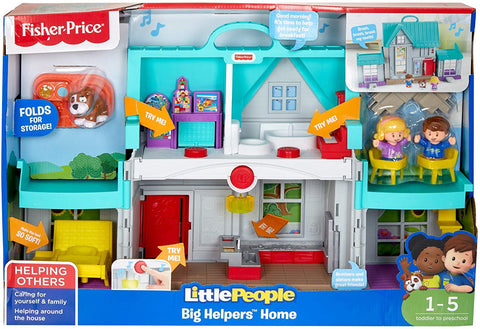 Fisher Price Little People Big Helpers Home