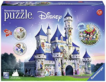 Disney Castle 216pc 3D Jigsaw Puzzle