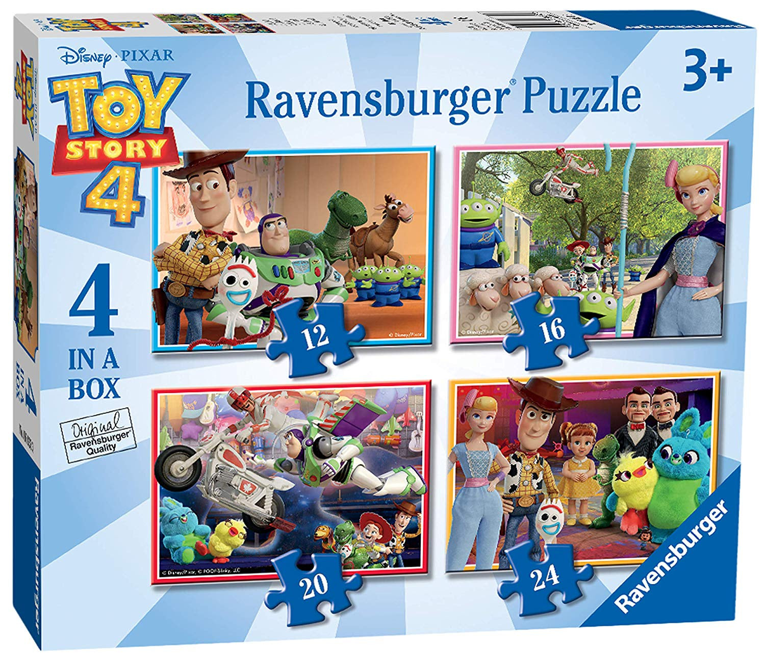 Toy Story 4  4 in a box Jigsaw Puzzle