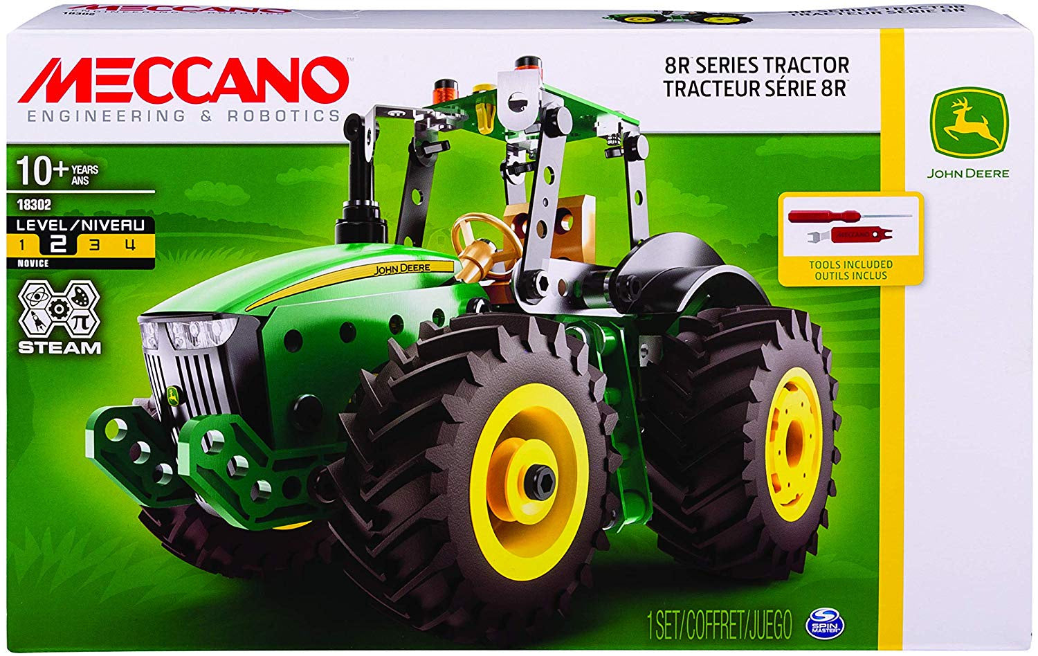 MeccanoJohn Deere Tractor Construction Set