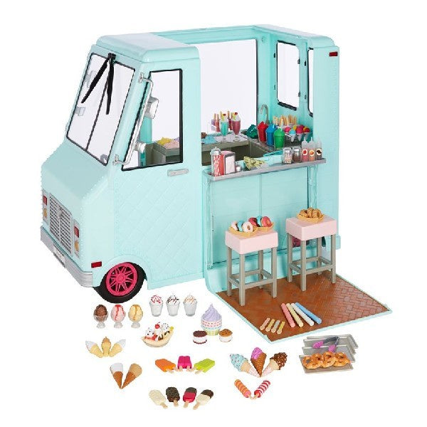 Sweet Stop Our Generation Ice Cream Truck Totally Toys