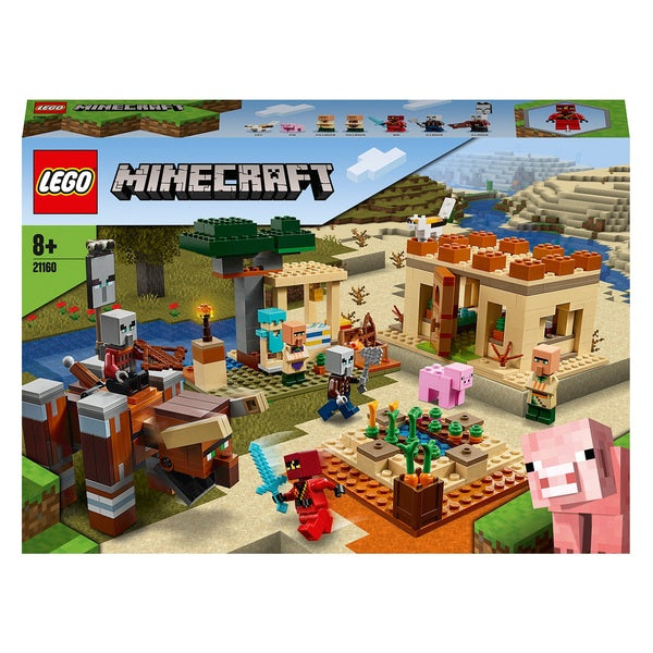 Lego Minecraft 21160 The Village Raid