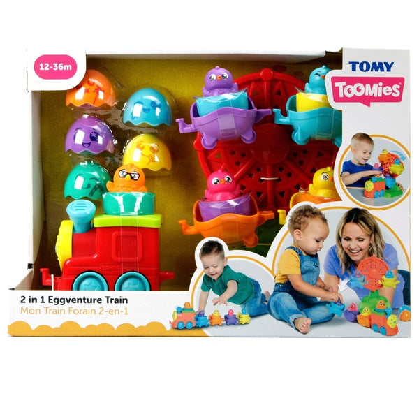 Tomy Toomies Eggventure Train Playset