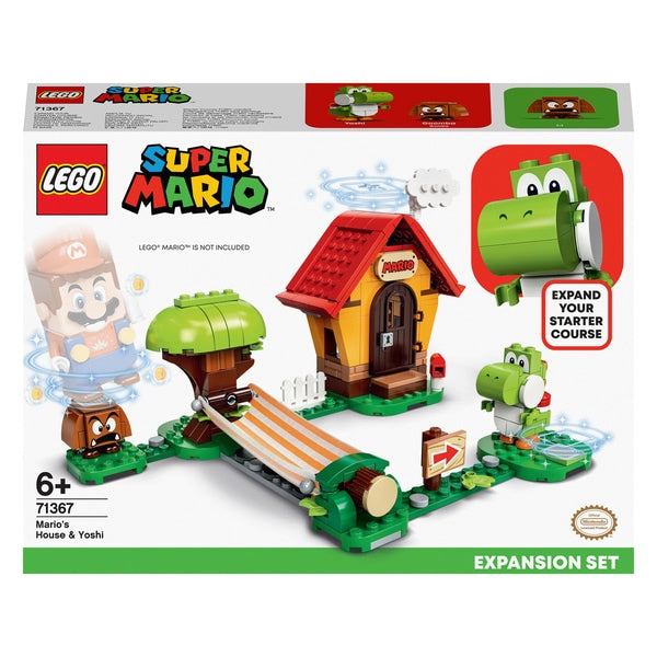 Lego Super Mario 71367 Mario's House And Yoshi Expansion set