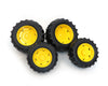Bruder Twin Tyre Set Yellow