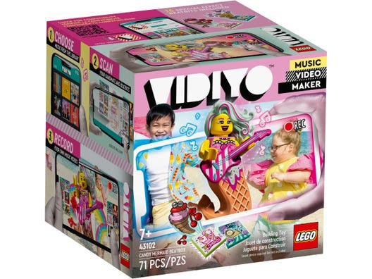 Lego Vidiyo 43102 Candy Mermaid BeatBox Video Maker