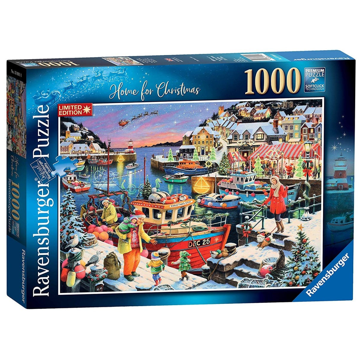 Home For Christmas 1000pc Jigsaw Puzzle