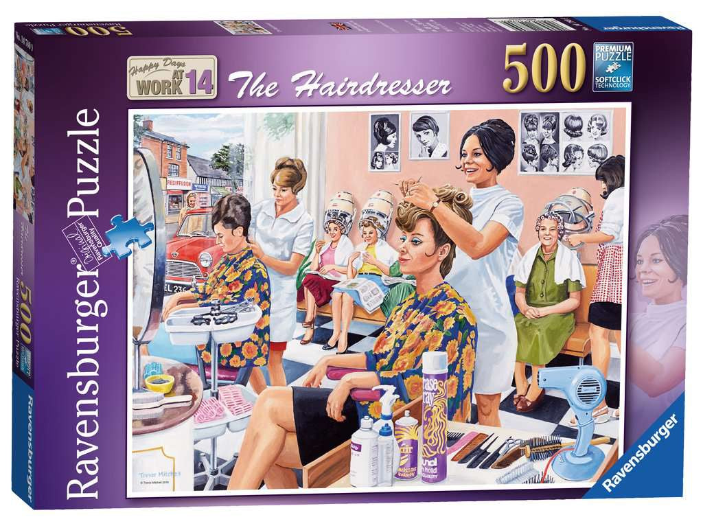 Ravensburger The Hair Dresser 500pc Jigsaw Puzzle