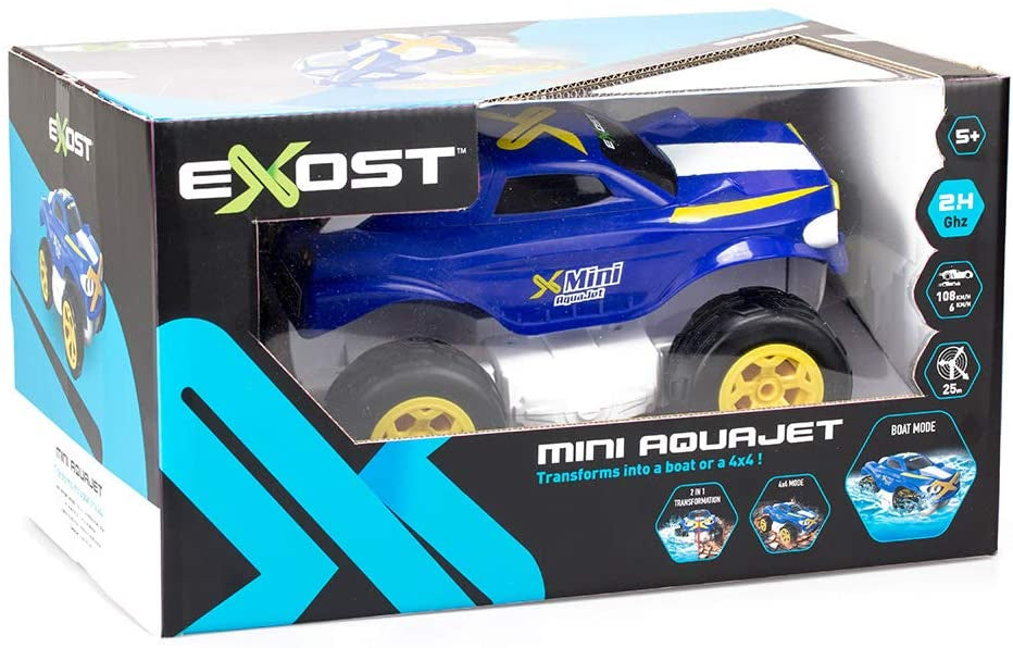 Exost Aquajet Mini Remote Control Land And Water Vehicle
