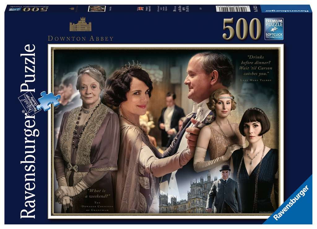 Ravensburger Downton Abbey 500pc Jigsaw Puzzle